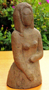 Half-length figure of a girl