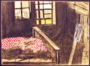 Sleeping chamber at Lehmann in the Black Forest